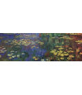 Claude Monet - Waterlilies 1. Printing on canvas