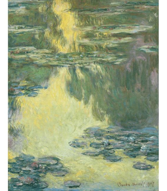 Stampa su tela: Claude Monet - Nymphéas 10