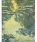 Claude Monet - Nymphéas 10. Stampa su tela