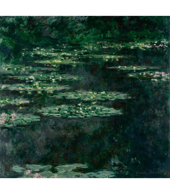 Stampa su tela: Claude Monet - Nymphéas 11