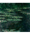 Claude Monet - Waterlilies 11. Printing on canvas