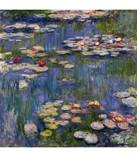 Stampa su tela: Claude Monet - Nymphéas 3