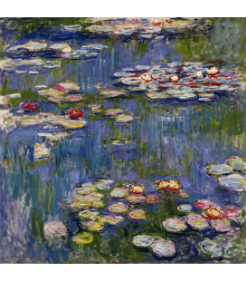 Printing on canvas: Claude Monet - Waterlilies 3