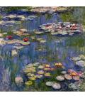 Claude Monet - Nymphéas 3. Stampa su tela