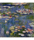 Claude Monet - Waterlilies 3. Printing on canvas