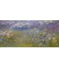 Stampa su tela: Claude Monet - Nymphéas 4