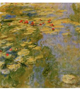 Printing on canvas: Claude Monet - Waterlilies 5