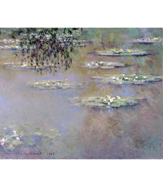 Printing on canvas: Claude Monet - Waterlilies 6
