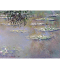 Claude Monet - Waterlilies 6. Printing on canvas
