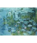 Stampa su tela: Claude Monet - Nymphéas 7