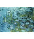 Claude Monet - Waterlilies 7. Printing on canvas