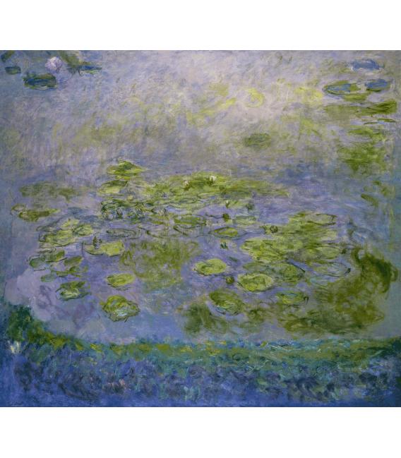Stampa su tela: Claude Monet - Nymphéas 8
