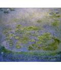Claude Monet - Nymphéas 8. Stampa su tela