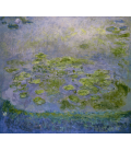 Claude Monet - Waterlilies 8. Printing on canvas