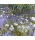 Claude Monet - Nymphéas 9. Stampa su tela