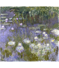Claude Monet - Waterlilies 9. Printing on canvas
