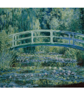 Claude Monet - Waterlilies and Japanese Bridge. Printing on canvas