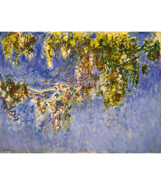 Printing on canvas: Claude Monet - Waterlilies