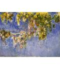 Claude Monet - Nymphéas, 1903. Stampa su tela