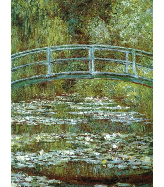 Stampa su tela: Claude Monet - Nymphéas, Lo Stagno delle Ninfee 1899
