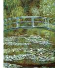 Claude Monet - Nymphéas, Lo Stagno delle Ninfee 1899. Stampa su tela
