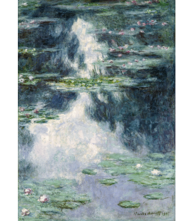 Claude Monet - Waterlilies, The Pond of waterlilies 2. Printing on canvas