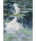 Claude Monet - Nymphéas, Lo Stagno delle Ninfee 2. Stampa su tela