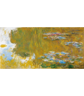 Claude Monet - Waterlilies, The Pond of waterlilies. Printing on canvas