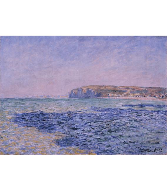 Stampa su tela: Claude Monet - Ombre sul mare, scogli a Pourville