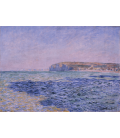 Claude Monet - Shadows on the Sea. The Cliffs at Pourville. Printing on canvas