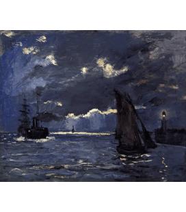 Printing on canvas: Claude Monet - A Seascape