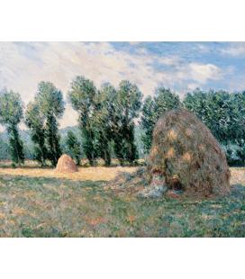 Stampa su tela: Claude Monet - Pagliai