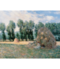 Claude Monet - Haystacks. Printing on canvas