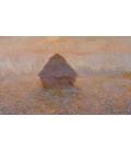 Claude Monet - Pagliaio, sole nella nebbia. Stampa su tela