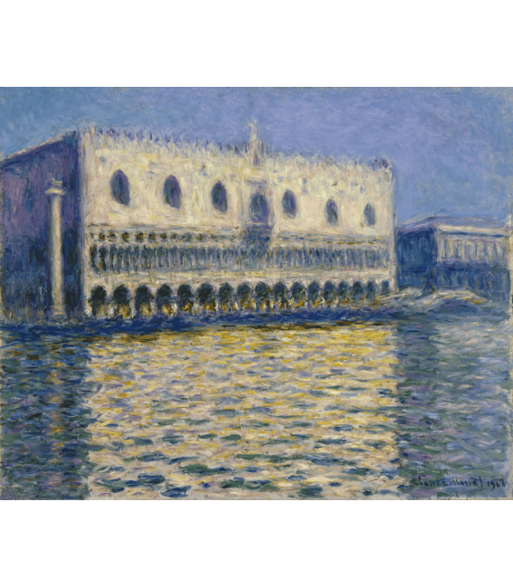 Printing on canvas: Claude Monet - The Doges Palace