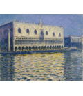 Claude Monet - The Doges Palace. Printing on canvas