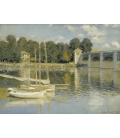 Claude Monet - Argenteuil Bridge 2. Printing on canvas