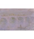 Stampa su tela: Claude Monet - Ponte di Waterloo, 2