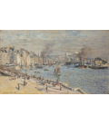 Claude Monet - Port of Le Havre. Printing on canvas