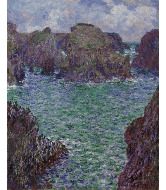 Printing on canvas: Claude Monet - Port-Goulphar