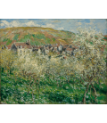 Claude Monet - Plums Blossom. Printing on canvas