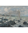 Printing on canvas: Claude Monet - Fishing nets at Pourville