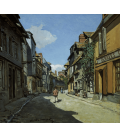 Printing on canvas: Claude Monet - Street of the Bavolle Honfleur