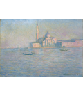 Claude Monet - Sùt Giorgio Greater, Venice, church. Printing on canvas