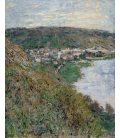 Claude Monet - View of Vetheuil. Printing on canvas
