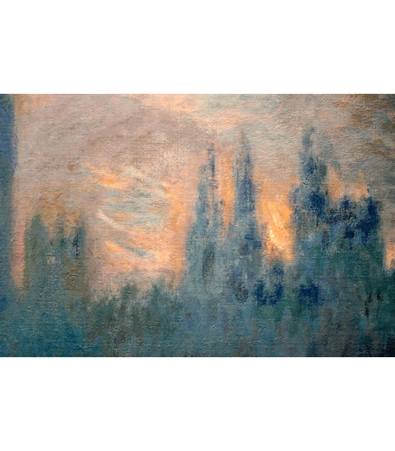 Printing on canvas: Claude Monet - Westminster