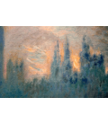 Claude Monet - Westminster, Parliament. Printing on canvas