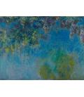 Stampa su tela: Claude Monet - Wisteria