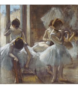 Edgar Degas - Dancers. Printing on canvas