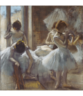 Edgar Degas - Dancers. Printing on canvas